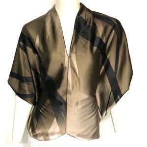 Amazing Elie Tahari silk blend top